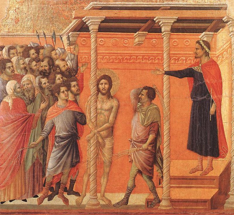 Christ's scourging at the pillar
