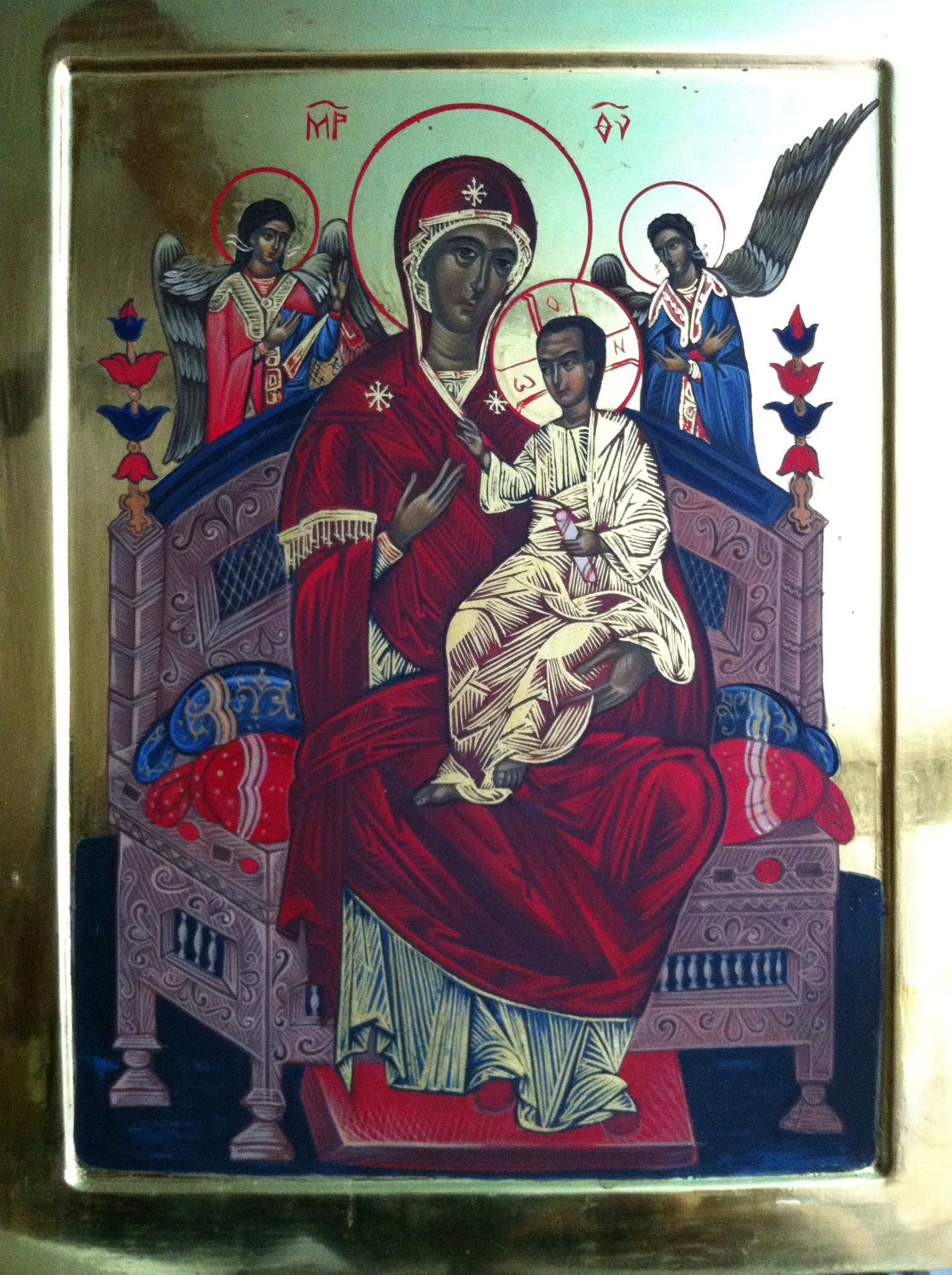 Healing Prayer. Vsetsaritsa (Pantaness) - icon of the Blessed Virgin Mary 27
